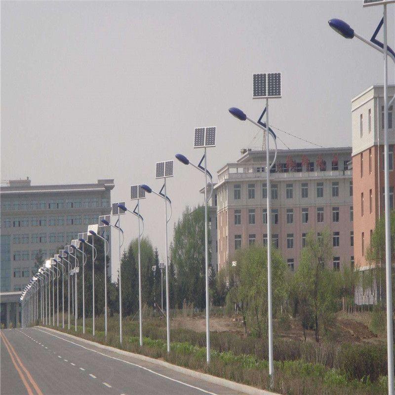 定制5米 6米 30w 40w 50w太陽能路燈 新農村太陽能LED路燈