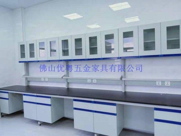 佛山实验室家具定制高明实验台试验台实验室操作台钢木通风柜工厂
