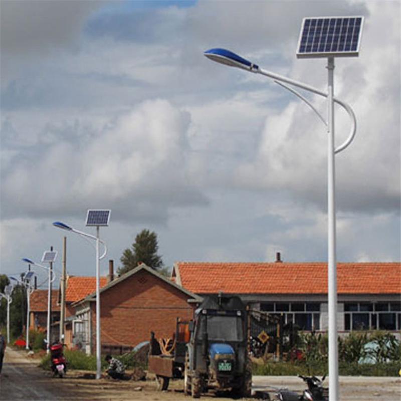 廠家直銷 6米太陽能路燈 新農村戶外防水道路照明LED路燈