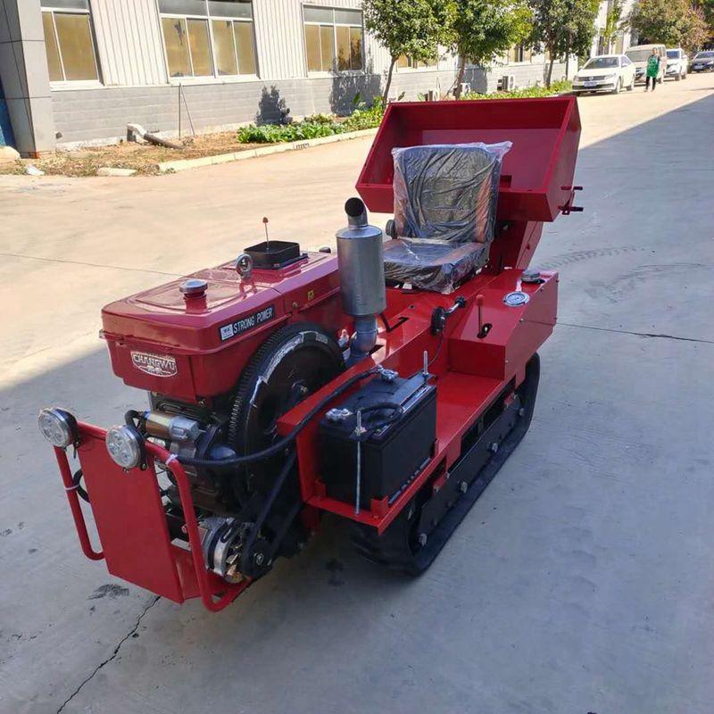 新型农用履带式旋耕机 大马力果园大棚开沟施肥回填机