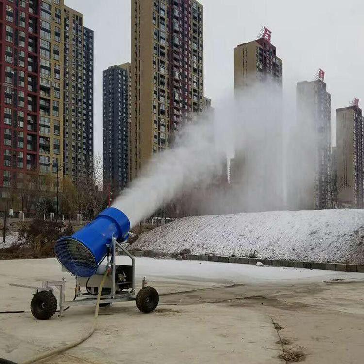 山东宏威造雪机 小型造雪机 室内游乐场造雪机