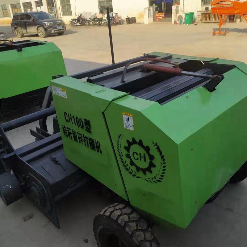 新型秸草秆收集设备小型玉米秸秆捆装机搂草机
