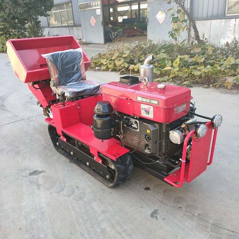 多功能農用小型旋耕機  一機多用果園翻地機  履帶式旋耕犁地一體機