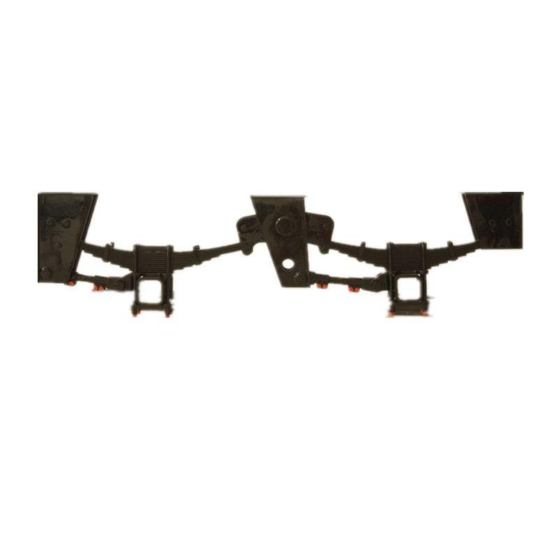 挂车机械悬挂90宽三轴美式悬架轻型加重半挂车焊接悬挂厂家直销