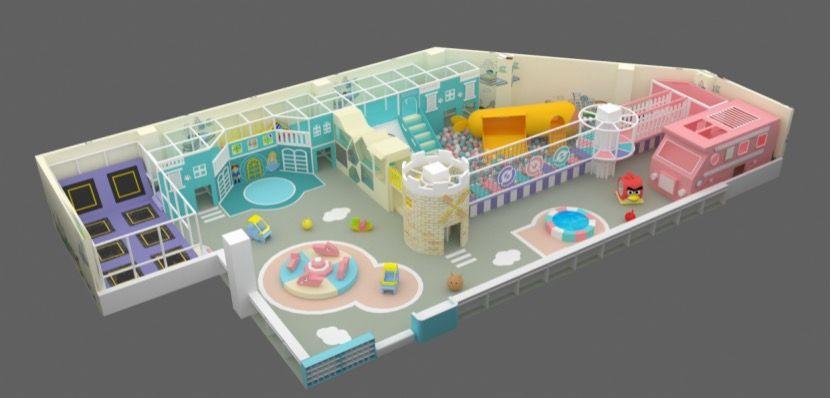 室内儿童乐园PVC地垫销售价