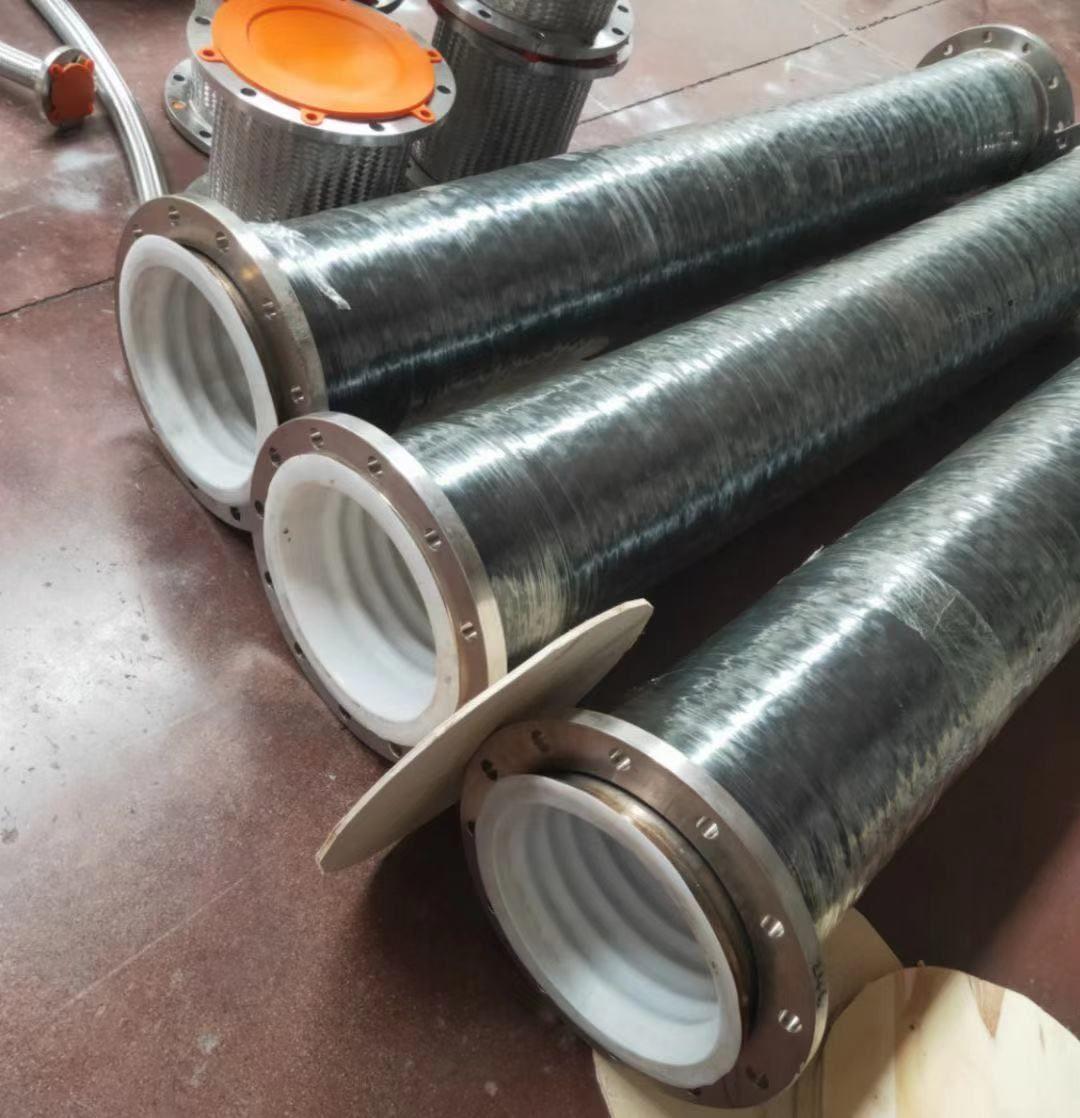 供应衬四氟金属软管,内衬四氟金属软管