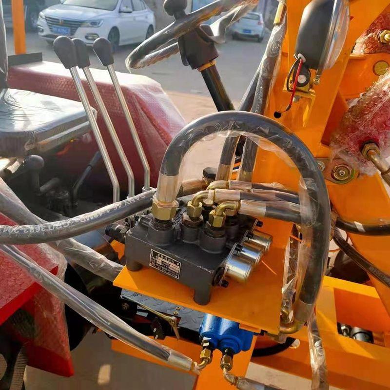 农用抓草机抓木机建筑机械小型装载机 06型小型装载机