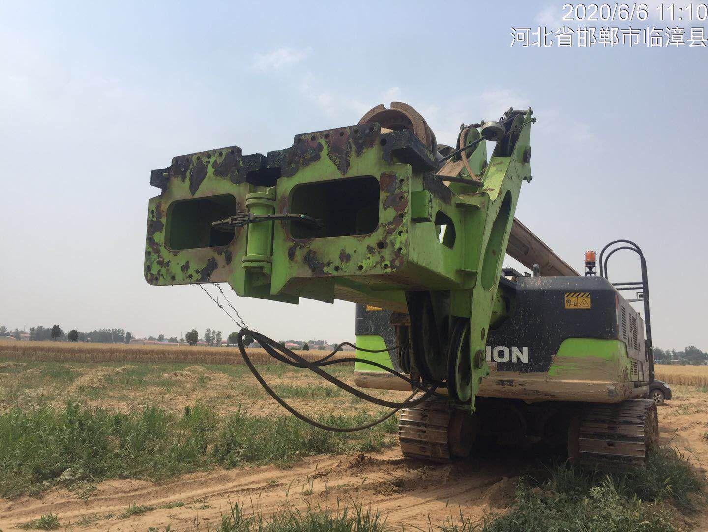 旋挖鉆機施工