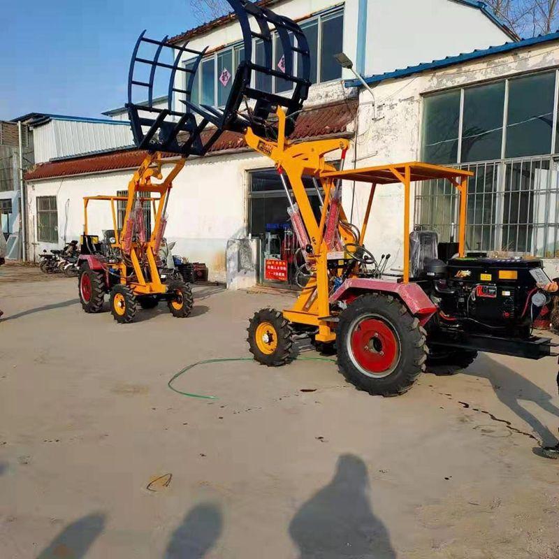 农用抓草机抓木机建筑机械06型小型装载机
