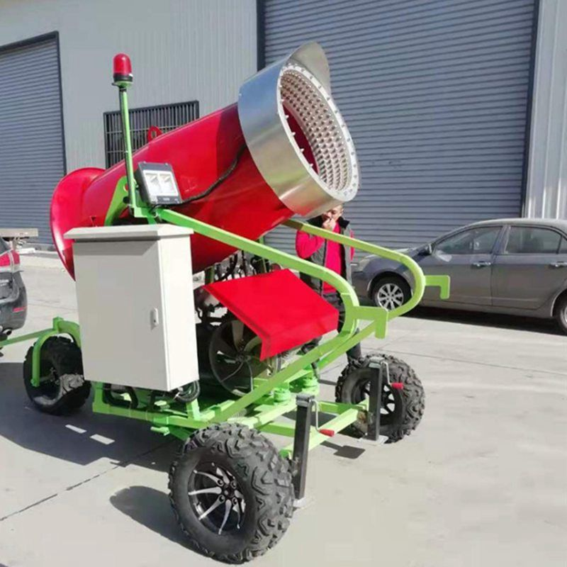 人工造雪喷雪机 小型造雪机设备户外人工飘雪机