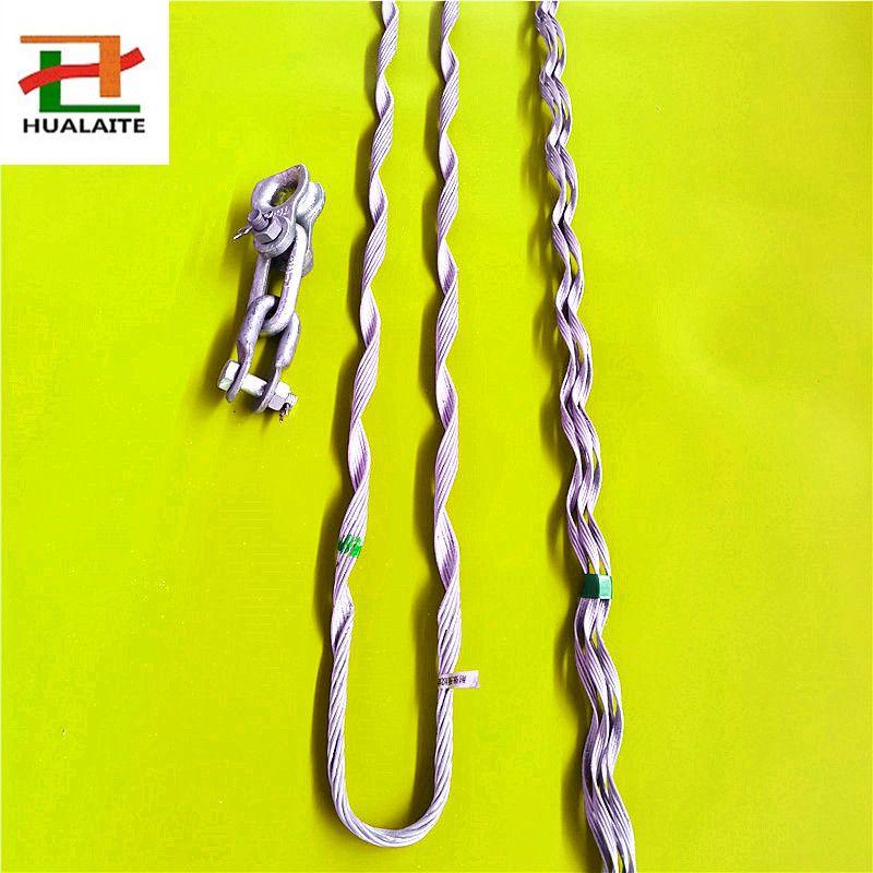 鄂尔多斯输变电站专用预绞式ADSS耐张线夹,光缆线路耐张串,多种规格型号