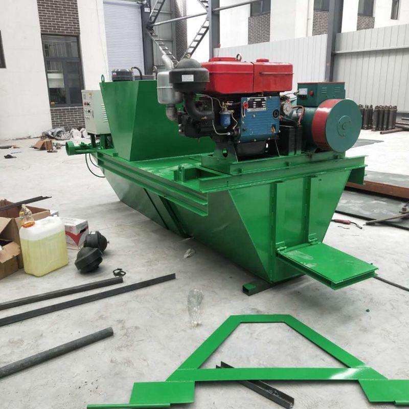 修水渠一次成型机械 自走式现浇水渠成型机 边沟机 渠道滑模机
