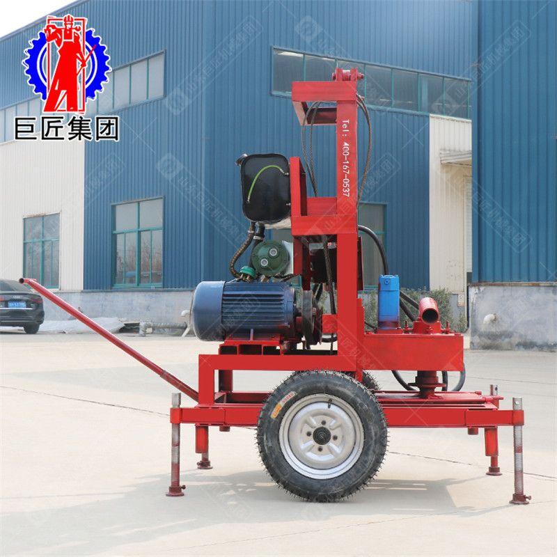 打井機小型家用民用SJDY-3A三相電地緣熱泵打井機