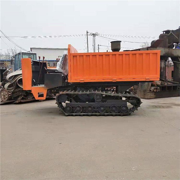 山东厂家直销履带运输车 建筑工地用履带车 自卸式履带运输车