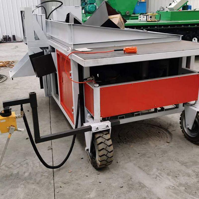 自走式路缘石滑模机 全自动液压路肩石滑模机 路缘石成型机
