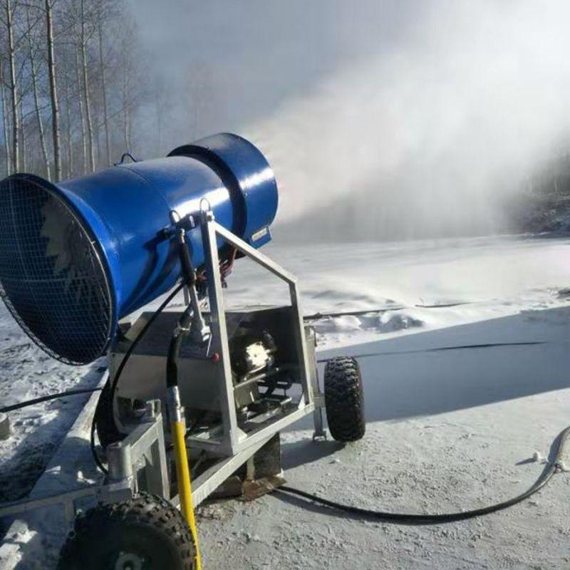 滑雪场人工造雪机 移动式室内造雪机