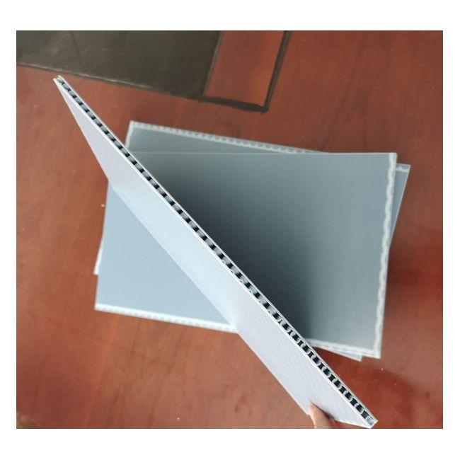 PP斜紋片材 PP中空板 PP塑料蜂窩板