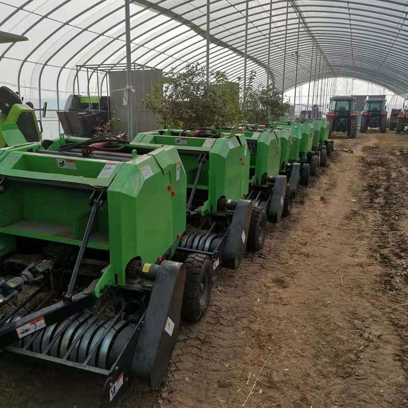 柴油式秸秆打包机 黄储玉米秸秆打捆机 液压牧草打包机