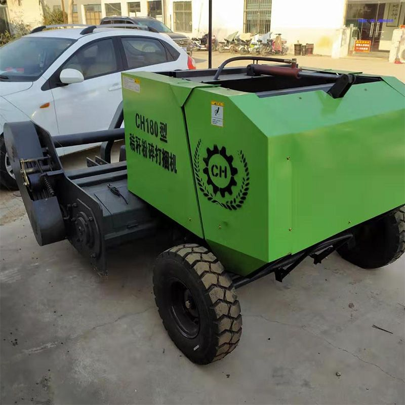 供应全自动液压稻草秸秆打包机 小麦秸杆打捆机 方捆捡拾打包机