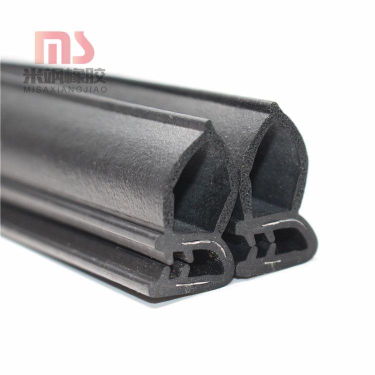 供应钢带复合机柜包边条侧泡防尘防撞橡胶密封条U型密封条