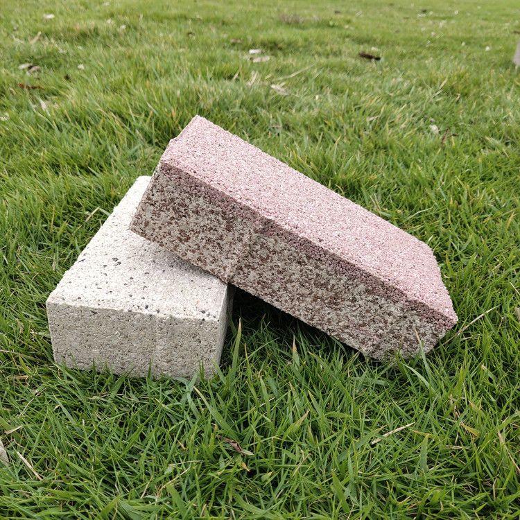 海綿城市用磚陶瓷透水磚 廣場磚廠家直供抗凍防滑支持定制