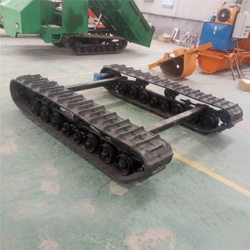 鉆機履帶底盤 排澇機器人履帶底盤