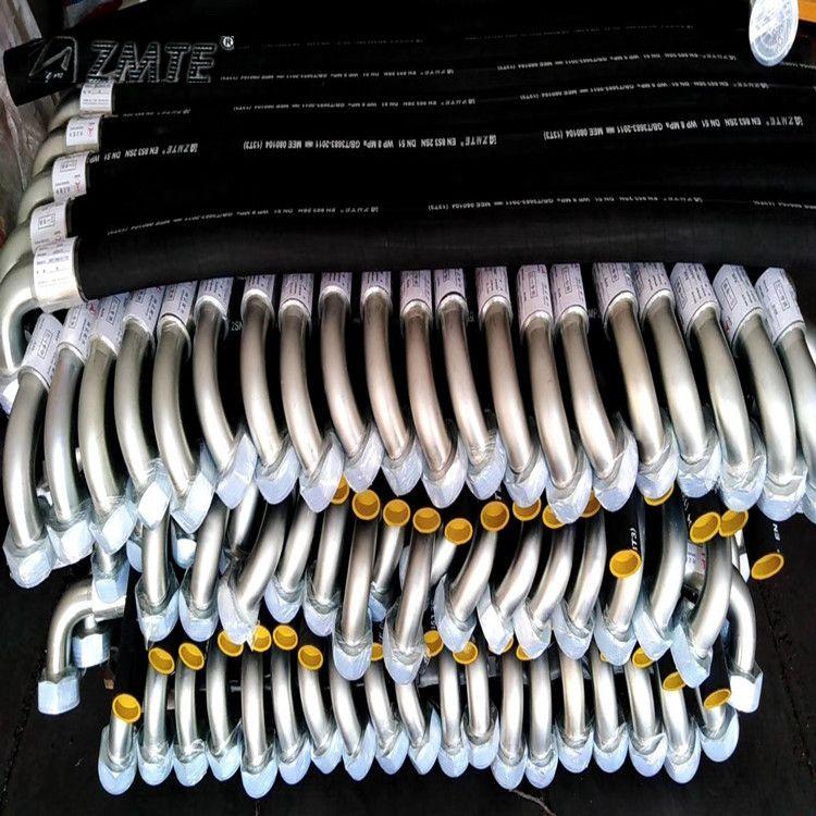 中美 生产 工程机械用防爆高压胶管 高低压胶管总成 厂家供应