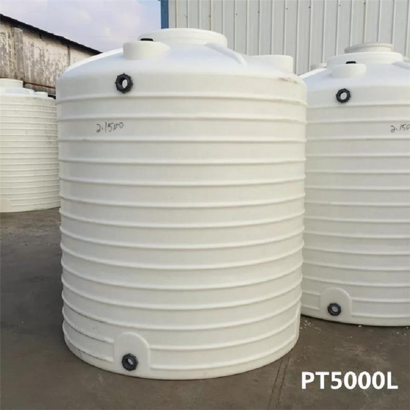 5T塑胶水塔厂家 化工储水桶-食品级加厚pe水箱