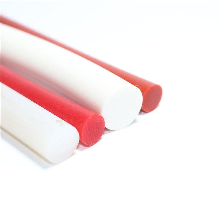 实心圆棍密封条耐高温O型密实防水条空心圆形硅胶条