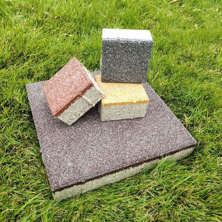 宁彤陶瓷透水砖厂家直供200*200*55砖海绵建设用砖
