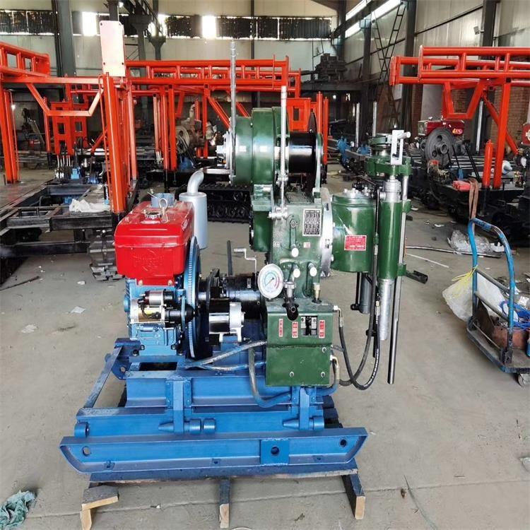 高/低支腿文登240型取样钻机 定向水平钻机三缸泥浆泵