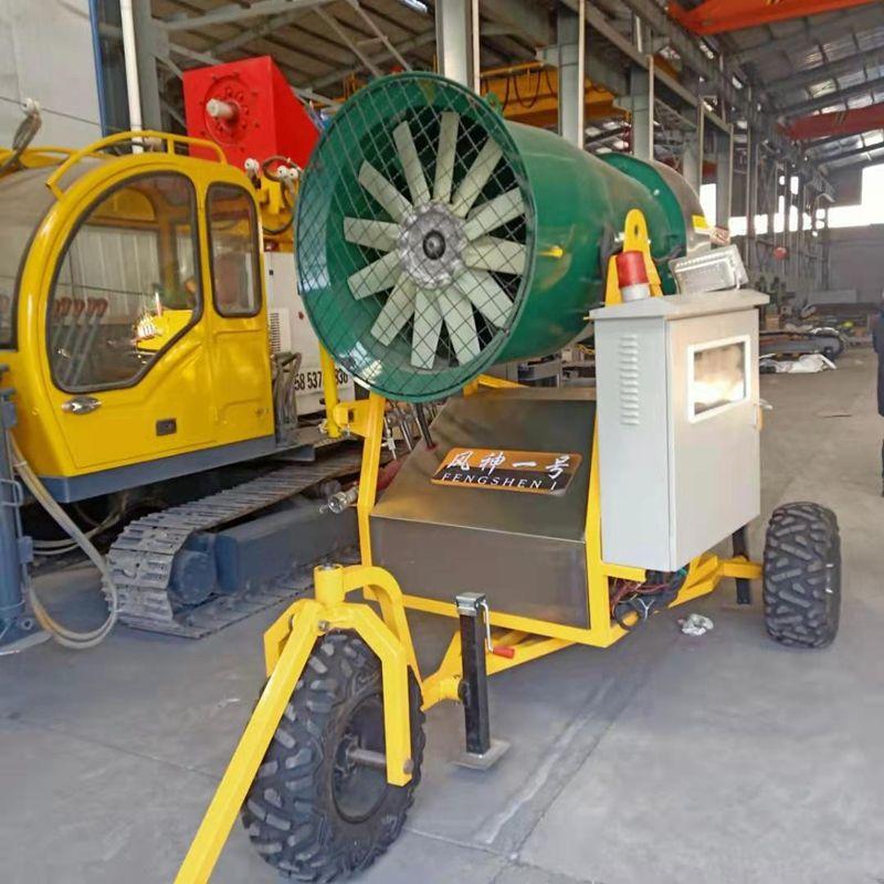 移动式全自动喷雪机 小型广告拍摄造雪机 供应滑雪场人工造雪机