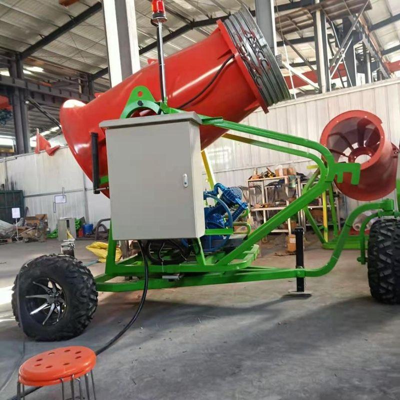 手推自走式造雪機 戶外戲雪游樂設備 全自動遙控雪景吹雪機