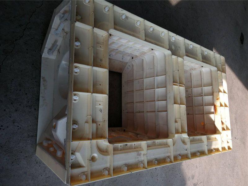 平铺式框格护坡模具-生态护坡模具