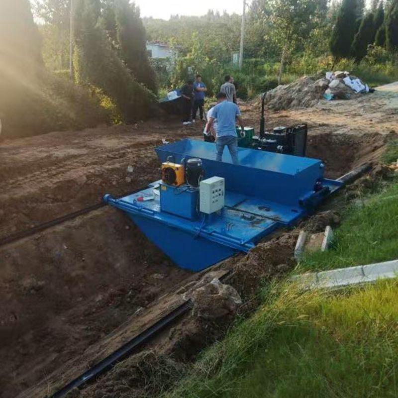 建筑机械排水沟衬砌机 排水沟水渠滑模机 液压自走渠道成型机
