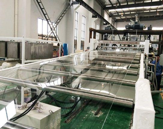 PC光學片材生產設備 高透明PC片材機PMMA光學片材設備