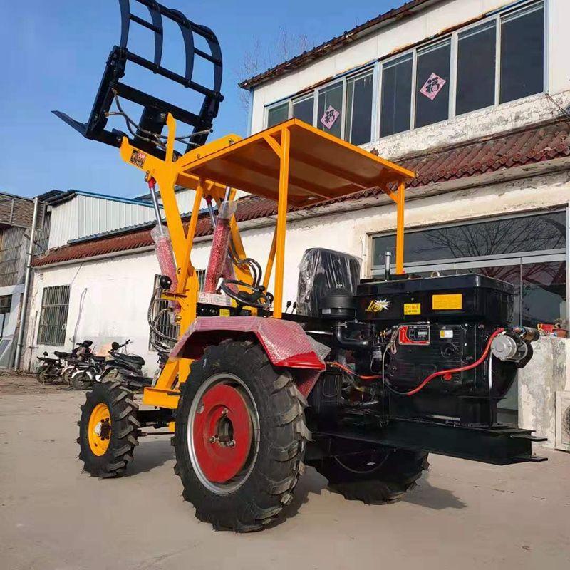 装载抓草机 加高臂抓木机 多种规格型号抓木机