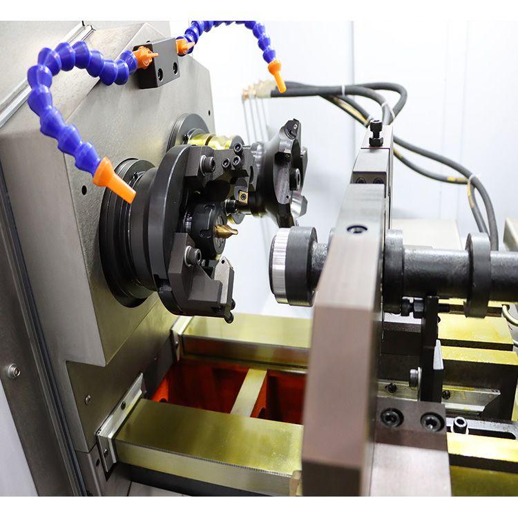埃牧特数控铣打机 曲轴凸轮轴轴类加工 铣端面打中心孔机床