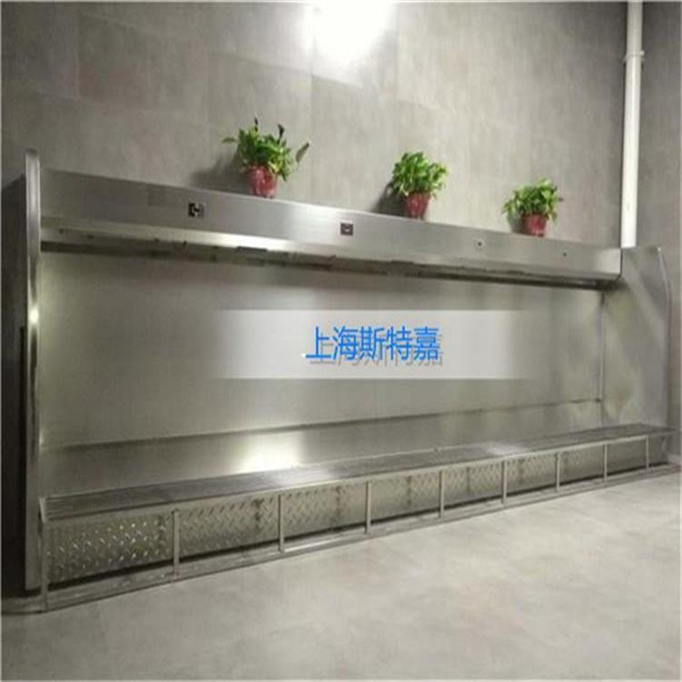 不锈钢感应小便池上海优质厂家定制多款不锈钢小便槽