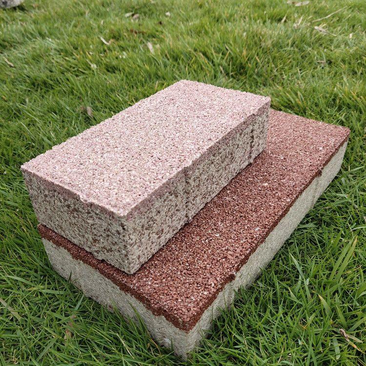 宁彤陶瓷透水砖海绵城市陶瓷透水防滑砖 生态透水砖支持定制免费送样