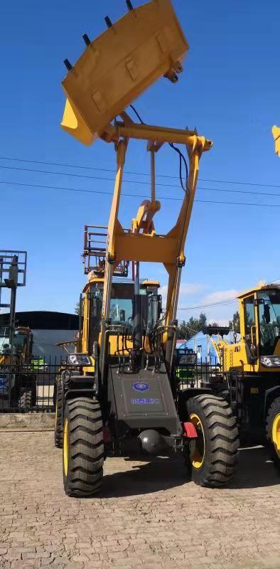 林业工程旋转抓木装载机
