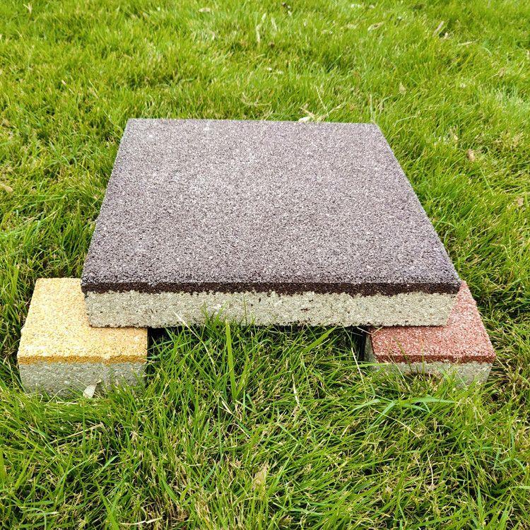 厂家宁彤直供陶瓷颗粒透水砖抗冻防滑砖支持定制海绵城市用砖