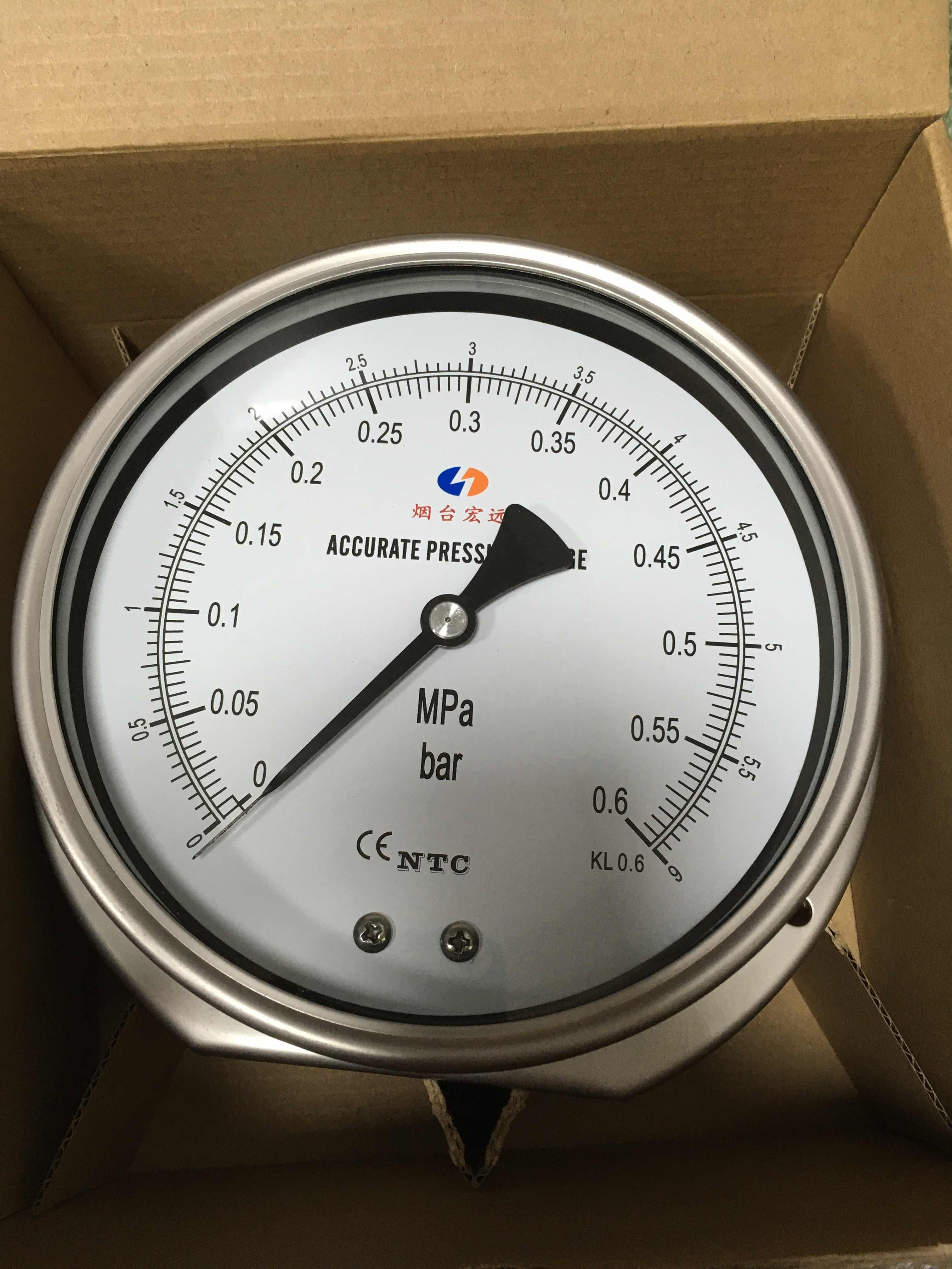广东耐震环境压力表价格