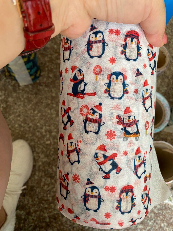 印花水刺无纺布热转印卡通印花儿童一次性口罩布