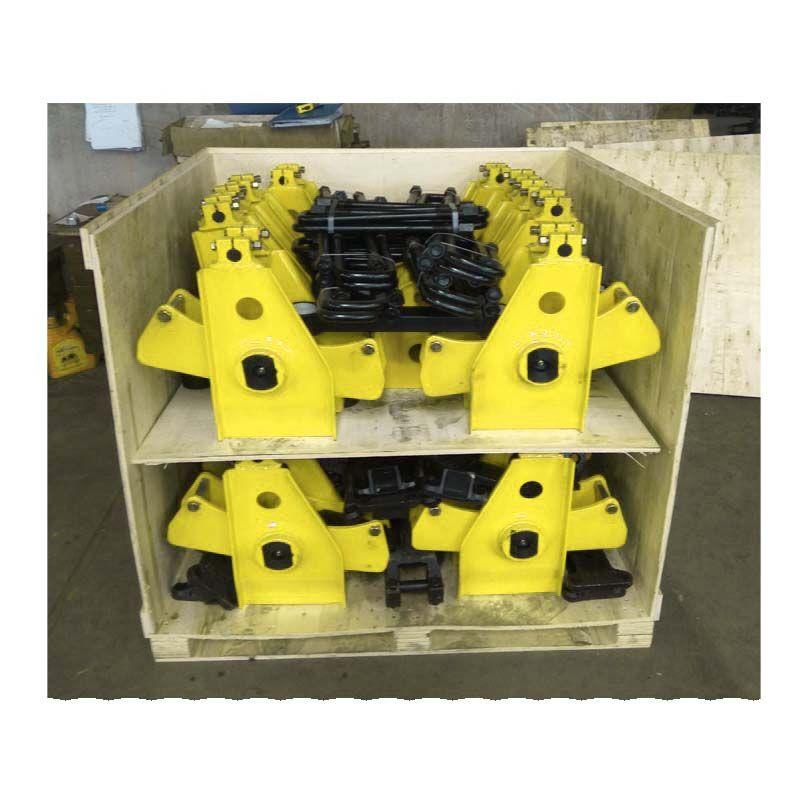 信通厂家供应轻型重型美式机械悬架 出口标准6个厚8个厚美式悬架