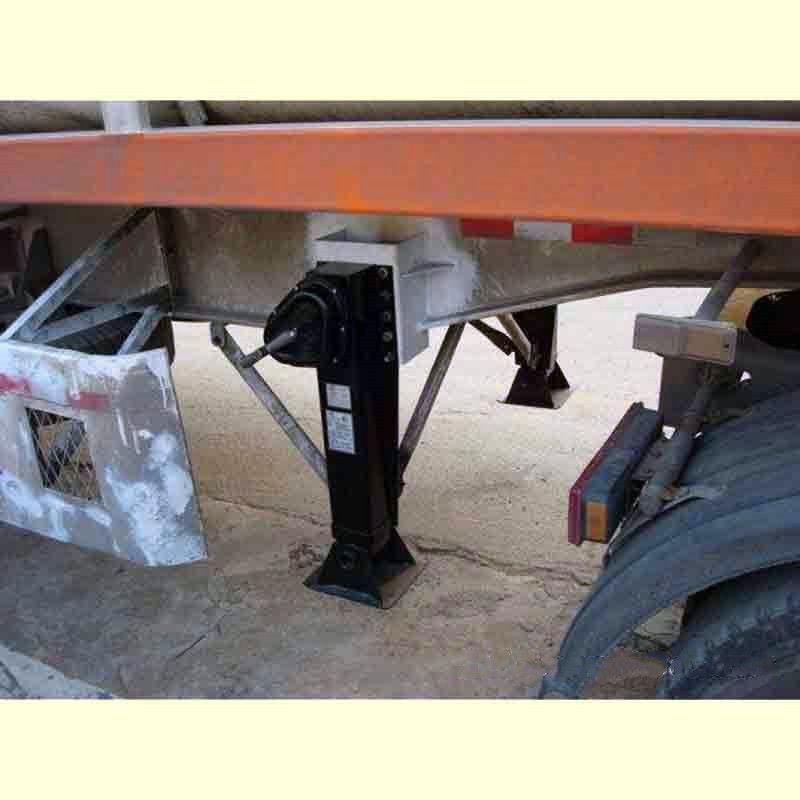 厂家直销28吨外置单动支腿 液压支腿 手摇式挂车马腿