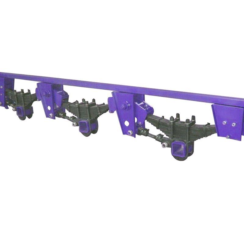 信通厂家供应出口型悬架 90宽轻型美式悬架 4个厚高强板机械悬架
