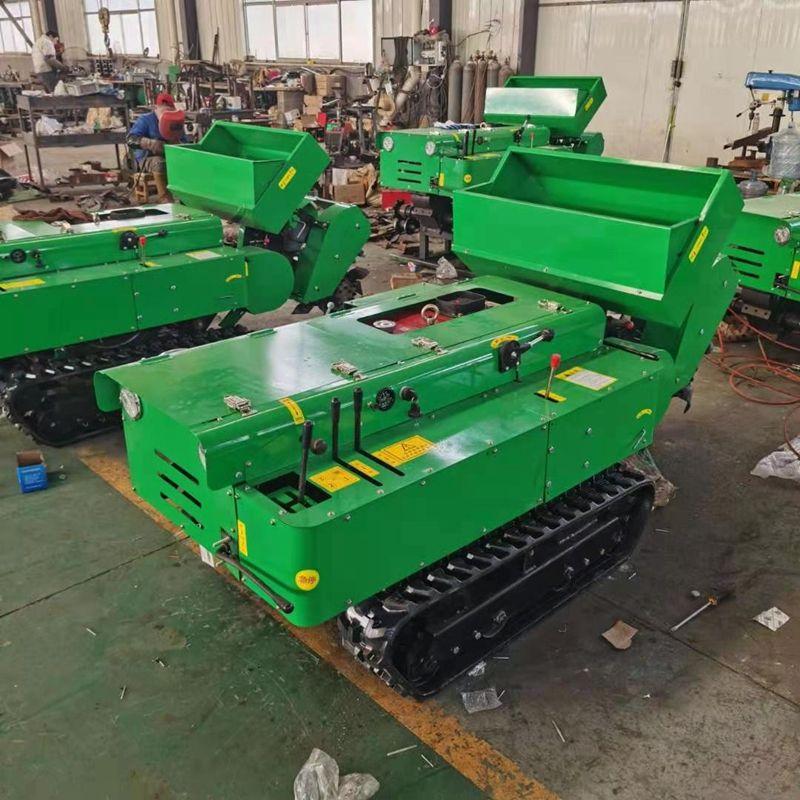 開溝回填旋耕機 果園農用履帶拖拉機 多功能田園管理機