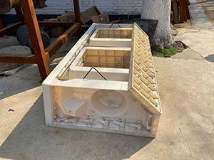 植草式阶梯护坡模具-阶梯护坡塑料模具