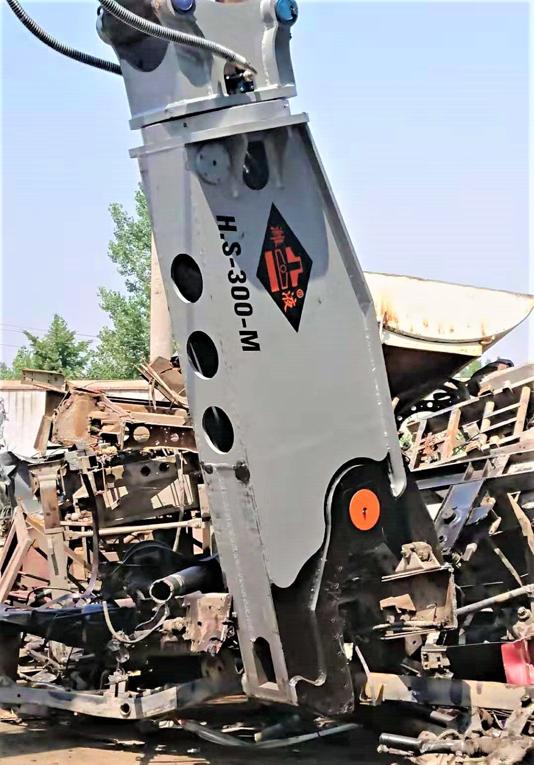 潍坊潍液®挖掘机拆车剪价格